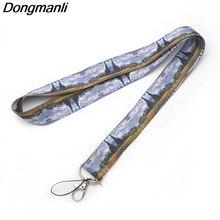 M1441 DMLSKY Van Goghs Oil Painting Lanyard Badge ID Lanyards/ Mobile Phone Rope/ Key Neck Straps Accessories