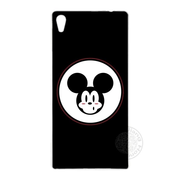 HAMEINUO Mickey Minnie Funny Face Cover phone Case for sony xperia z2 z3 z4 z5 mini plus aqua M4 M5 E4 E5 C4 C5