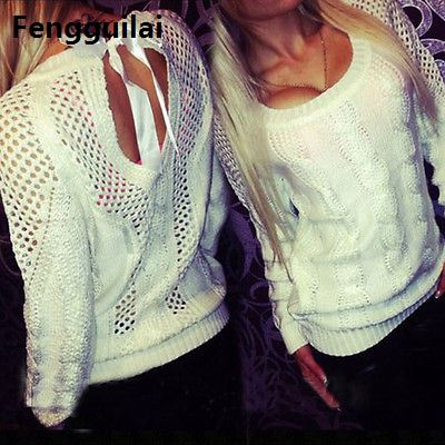 Womens Sweaters Fashion 2018 Spring Winter Knitting Sweater Cashmere Sueter Mujer Women Pullovers White
