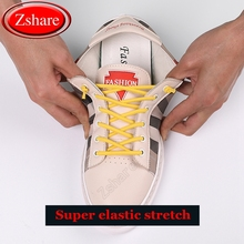 1 Pair No Tie Shoe laces Round Strong Elastic Shoelaces Kids Adult Leisure Sneakers Quick Shoelace Outdoor Fashion Lazy