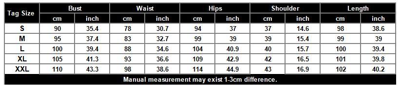 C3-5790 size chart