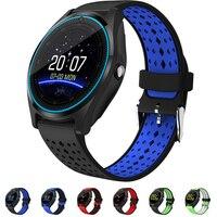 2018 new Bluetooth Smart Horloge V9 met Camera Smartwatch Stappenteller Gezondheid Sport Klok Uur Mannen Vrouwen Smartwatch Voor