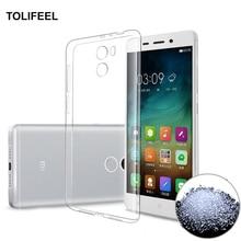 TOLIFEEL Xiaomi RedMi 4 Case Silicone Cover Original Xiaomi RedMi 4 Pro Slim Transparent Protection Soft Shell Redmi 4X Redmi 4A