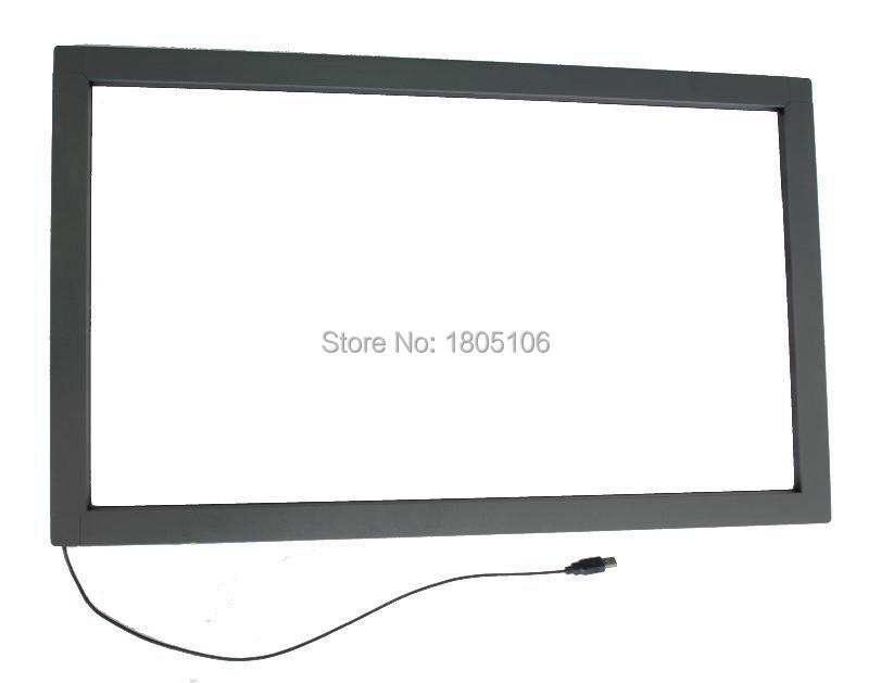 Fast Shipping By EMS To Russia 2pcs 55'' 32 touch points and 1pcs 24'' 16:9 ratio infrared Touch Screen Panel overlay kit