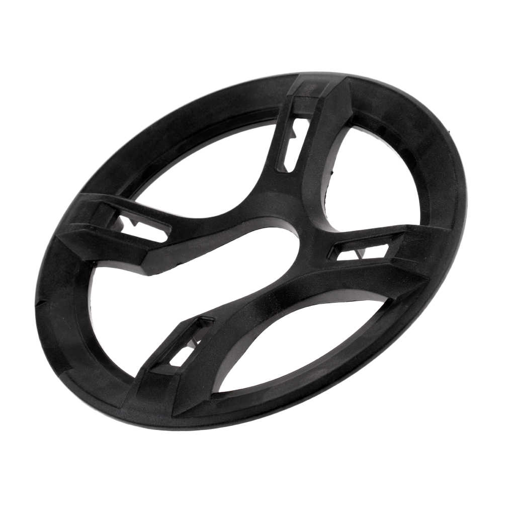 Bike Cycling Square Hole Crankset Protector Cover Chain Wheel Guard 42-44T