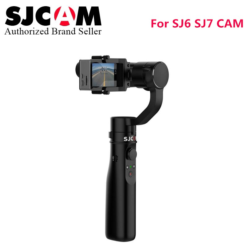 Newest Version SJCAM accessory 3 axis Handheld Stabilizer gimbal like intelligent control monopod for SJ6 Legend SJ7 star camera