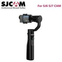 Newest Version SJCAM accessory 3 axis Handheld Stabilizer gimbal like intelligent control monopod for SJ6 Legend SJ7 star camera