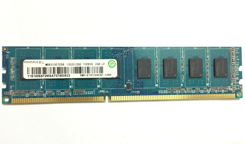 Desktop memory Ramaxel Technology <font><b>DDR3</b></font> 2GB 1066MHZ <font><b>1333</b></font> <font><b>PC3</b></font>-8500 1066 <font><b>10600</b></font> <font><b>1333</b></font> computer <font><b>RAM</b></font> 240PIN image