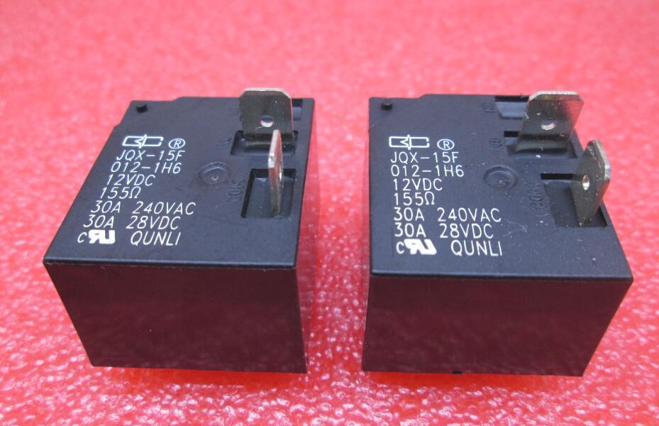 цена на NEW 12V relay JQX-15F 012-1H6 12VDC JQX-15F-012-1H6 12VDC JQX-15F-012-1H6-12VDC 12VDC DC12V 12V 30A 240VAC DIP4