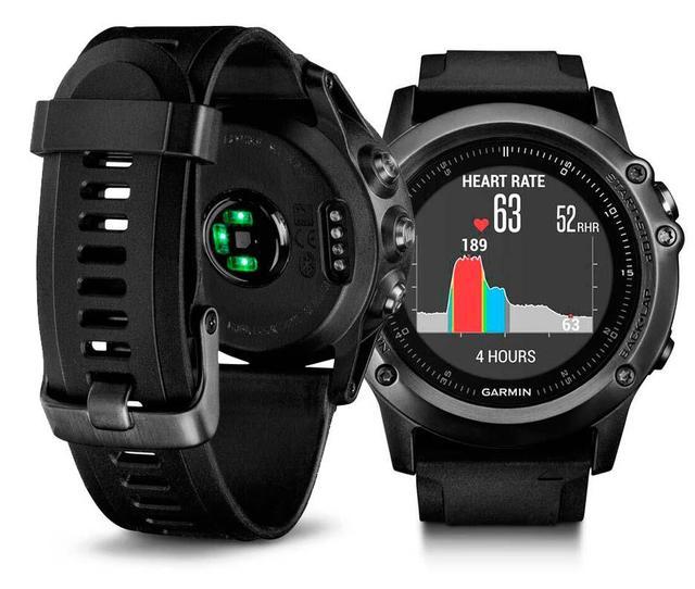 3858b1e3e72 Novo Garmin Fenix 3 HR Poliesportiva GPS Relógio de Safira em ...