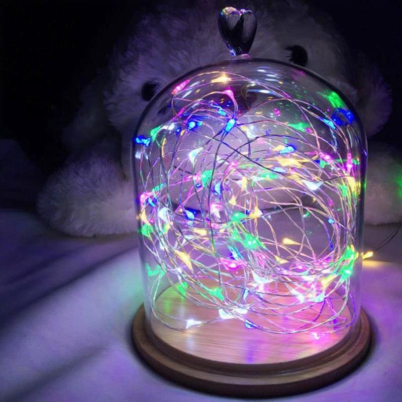 copper wire led string lamp 3 0m 30leds christmas garland. Black Bedroom Furniture Sets. Home Design Ideas