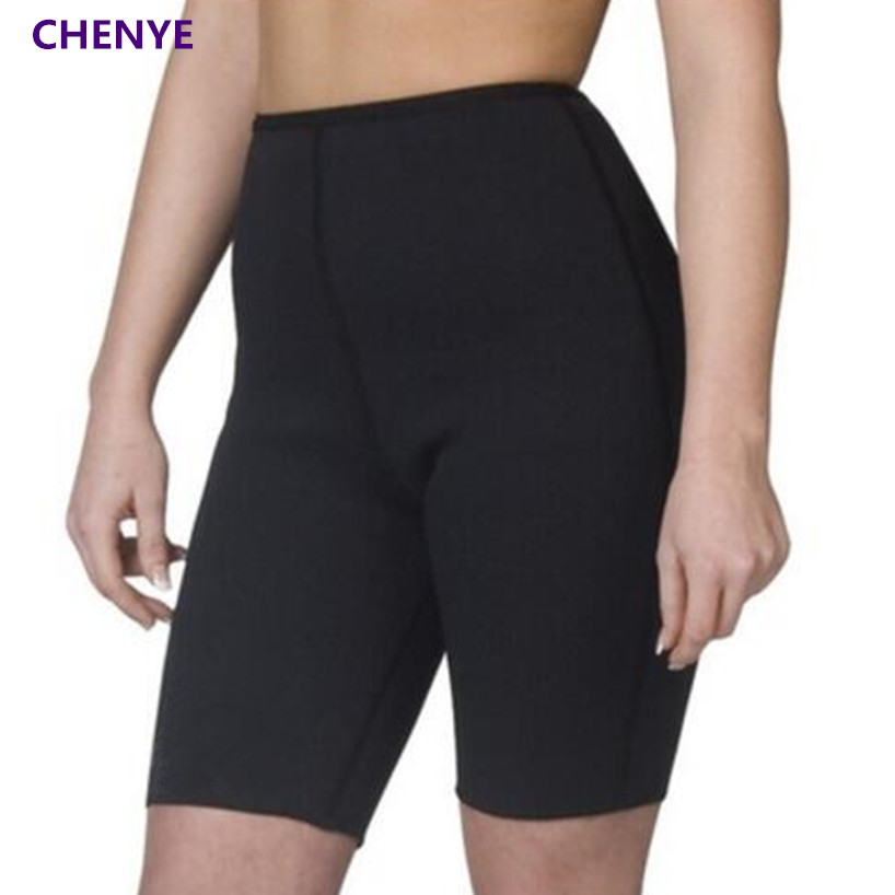 7dfc2e9a00 Women s Hot Sale Body Shapers Compression Slimming Pants Plus Weight Loss  Heat Maximizing Anti Cellulite Neoprene Fitness Shorts