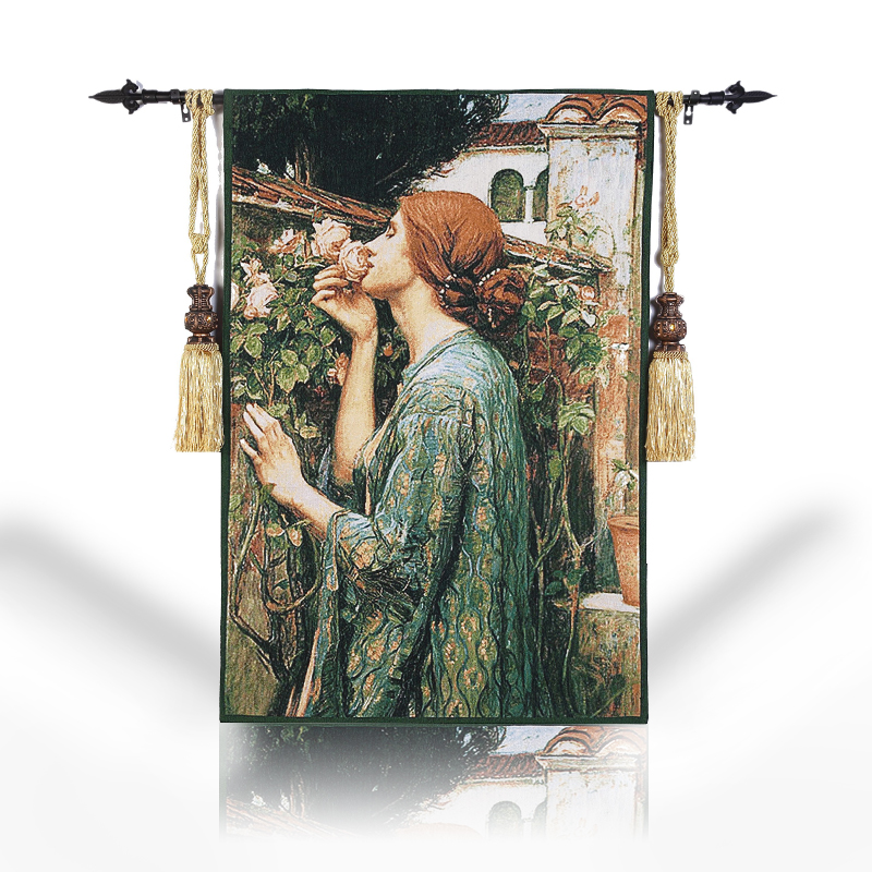 Cotton Tapestry Belgium Art Wall Hanging Decorative Wall Cloth Tapestries Moroccan Decor aubusson tapiz