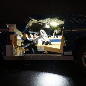 Image 4 - ไฟ LED (รุ่นคลาสสิก) สำหรับ 10265 รถ Ford Mustang Race บล็อกของเล่นของขวัญ