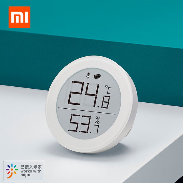 Xiaomi Clear Grass Bluetooth Temperature Humidity Digital Thermometer Moisture Meter Sensor LCD Screen Smart Mi Home