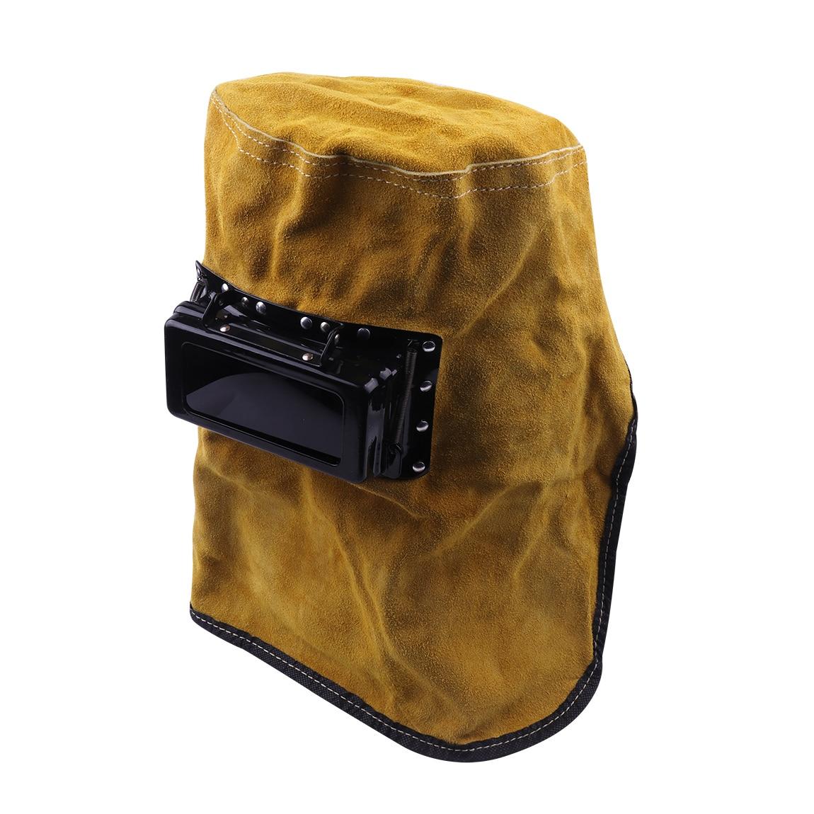 New Welding Mask Head mounted Comfort Leather Welding ...