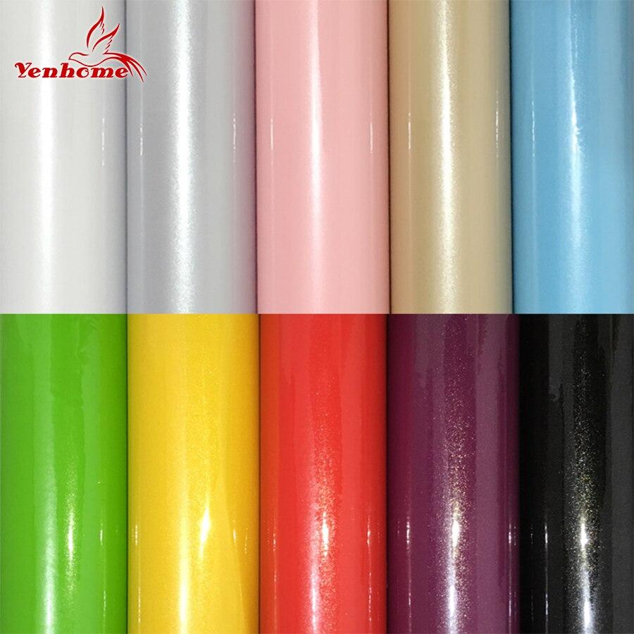Neue 61 cm Breite PVC Vinyl Filme Selbstklebende Tapete Kleiderschrank Schrank Möbel Poster Küchenschrank Wandaufkleber Wohnkultur