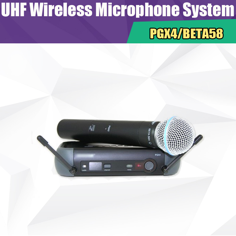 hot sale professional uhf vocal wireless microphone system pgx pgx24 beta58 wireless handheld. Black Bedroom Furniture Sets. Home Design Ideas