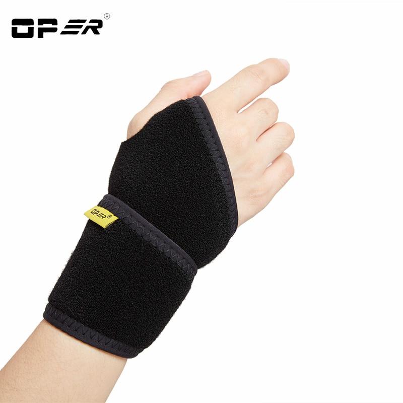 OPER 고정 된 손목 밴드 조정 가능한 의료 손목 엄지 보호 랩 손목 줄기 받침대 공동 건강 관리 손가락 부목