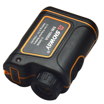 SNDWAY Original Laser Rangefinder Monocular Telescope Distance Meter Golf Hunting Speed Angle Finder With Rechargeable Battery