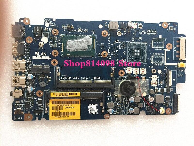 KEFU CN 006M0K 06M0K FIT FOR Dell Inspiron 5447 5442 5542 5547 Laptop Motherboard ZAVC0 LA B012P REV:1.0 I3 4030U mainboard