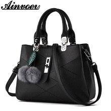 Ainvoev Handtaschen für frauen fashion messenger bags qualität pu-leder tote frauen umhängetasche weiblichen querleichensäcke kupplung a2206