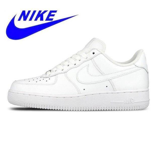 new arrivals 5e6f4 d0f2c Oryginalny Nowy Przyjazd Nike Air Force 1 męska Deskorolce Buty, Wysokiej  Jakości Odkryty Sportowe Buty