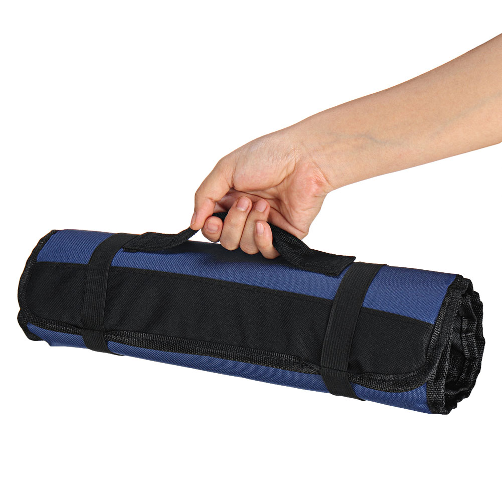 22 Pocket Chef Cutter Roll Bag Portable Carry Case Storage Bag Kitchen Cooking RT99