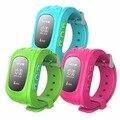 Q50 Teléfono Inteligente Reloj de Pulsera Del Cabrito Perdida Anti GPS Tracker reloj Para Niños SOS GSM Smartwatch Teléfono Móvil Para IOS Android