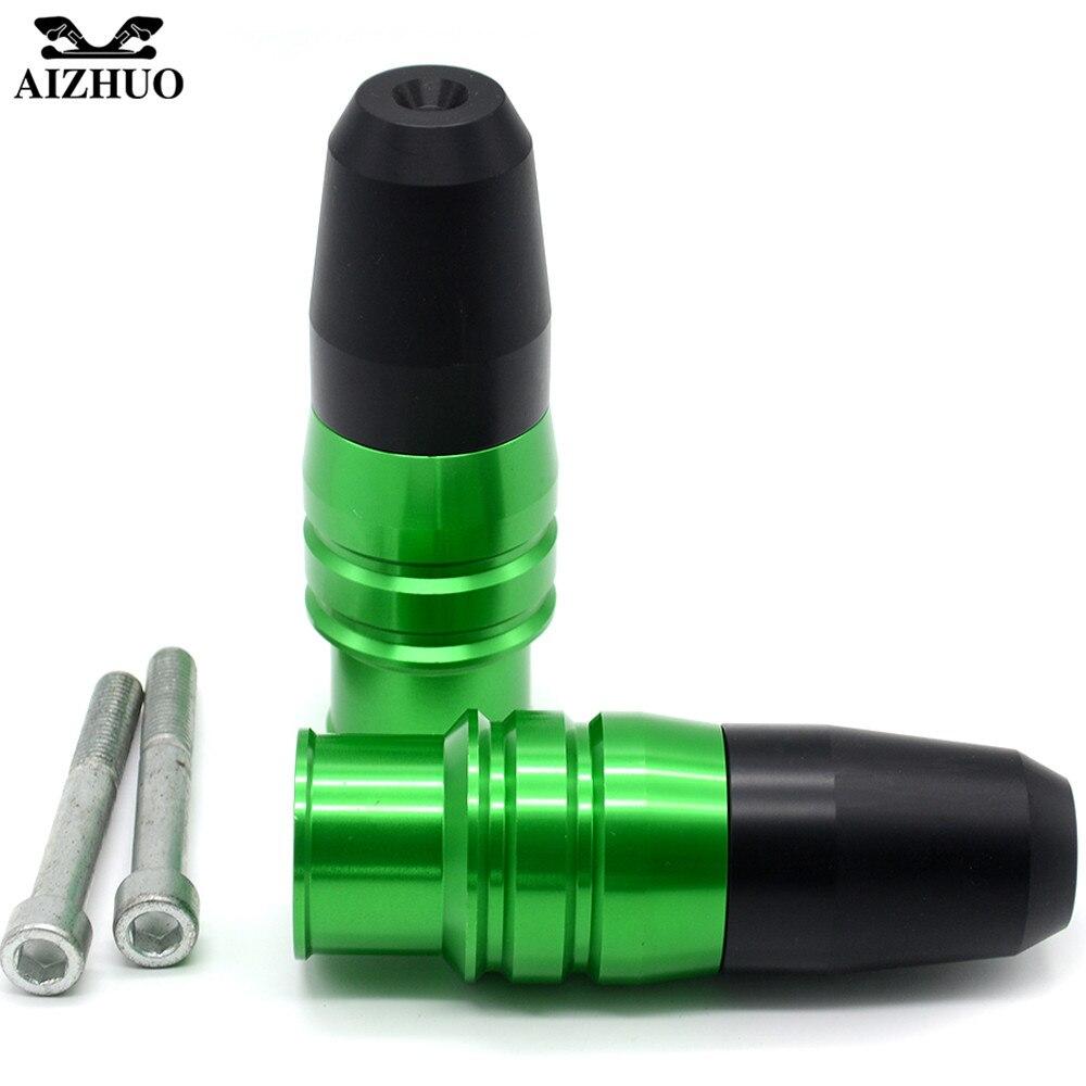 For kawasaki ninja z800 z900 z250 z300 z250 300 804 Fall Protector CNC Motorcycle Frame Crash Pads Engine Case Sliders Protector