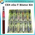 EGO CE4 kits Blister con 650 mah 900 mah 1100 mah ego t batería cigarrillo electrónico CE4 vaporizador líquido, eletronico cigarro e cig