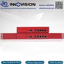 Мини 1U Настольный 4GBe LAN с четырехъядерным процессором J1900 сетевой сервер barebone