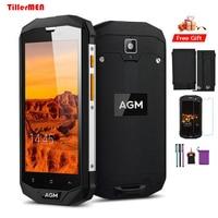 AGM originale A8 Telefono Impermeabile IP68 4G Lte Antiurto Android Phone3GB RAM 32 GB ROM 13MP NFC 4050 mAh 5