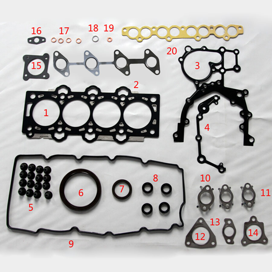 D4FA For KIA RIO OR For Hyundai GETZ Full Set Automotive Spare Parts Engine  Parts Auto Parts Engine Gasket 51033200 on Aliexpress.com | Alibaba Group