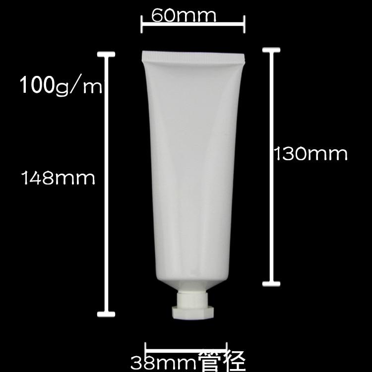 100ML Plastic Cosmetic Tubes For Facial Cream
