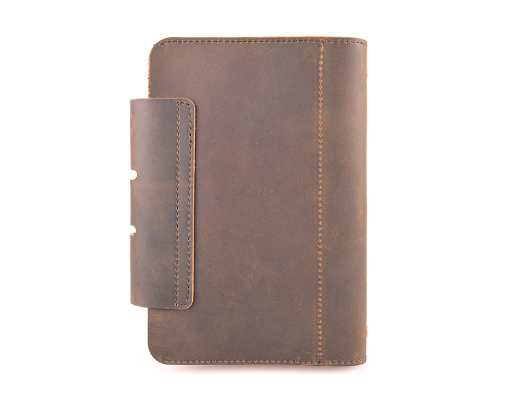Cheap leather a6 notebook