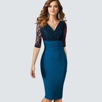 Spring Autumn Red Black Blue Purple Appliques Sexy Pencil Lace Dress Evening Party Lace Dress Long