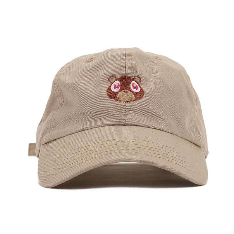 Baseball Cap Summer For Men Women Snapback Caps Unisex Exclusive Release Hip Hop Hot Style Hat Kanye West Ye Bear Dad Hat удлиненный комбинированный ключ king tony 22 мм 1061 22