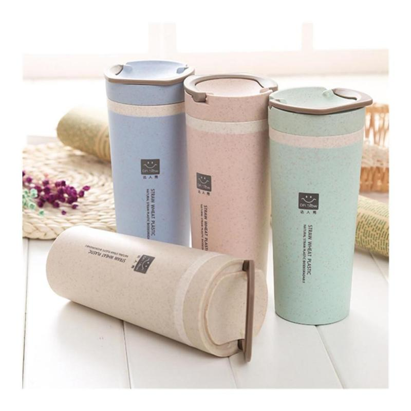 Mini Portable cute tumbler gift vacuum bottle water mug insulation watter Kettle Container Drinkware 450ml 30