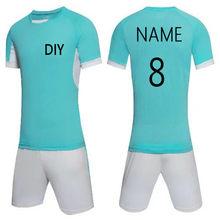 DE FÚTBOL Camisetas de hombres en el equipo de fútbol camisetas trajes de entrenamiento  rápido seco corto camisetas del fútbol . dbd90d05945a5