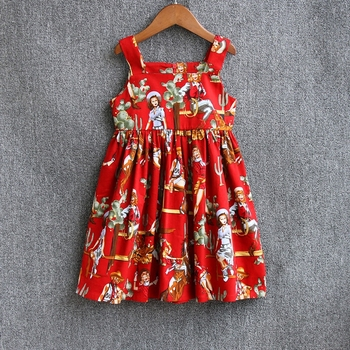 kids clothing mom girls family matching clothing parental look outfits mother and daughter dresses Cotton Summer vest dress