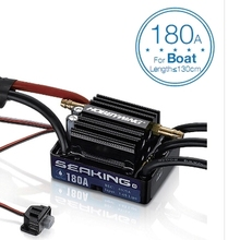 Hobbywing SeaKing V3 Waterproof 120A /180A 2-6S Lipo Speed Controller 6V/5A BEC Brushless ESC for RC Racing Boat  F18582/3
