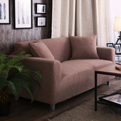 Svetanya 2018 Knitted Cotton Slipcovers Solid Color Sofa Cover all-inclusive Couch Case for different Shape Sofa
