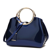 high quality patent leather handbag women bag fashion messenger shoulder bags for women 2018 travel bag casual handbags bolsa все цены