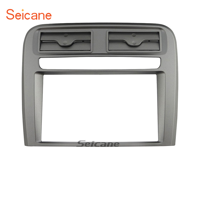 Seicane 2 Din Car Radio Fascia Frame Installation Dashboard Panel For FIAT GRAND PUNTO (LHD) 2005 2006 2007 2008 2009 2 din car radio fascia panel adapter for toyota previa tarago 2007 estima 2006