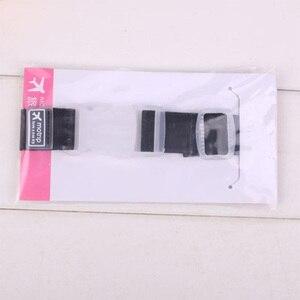 Image 4 - רצועות מטען מתכוונן ניילון מזוודות אביזרי תליית אבזם רצועות מזוודה תיק רצועות צבעוני עניבת למטה חגורת מטען