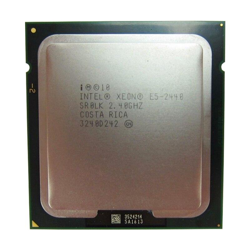 Intel CPU Intel Xeon CPU E5 2440 SR0LK CPU 2.4GHz 6-Core 15M LGA 1356 E5-2440 Processor
