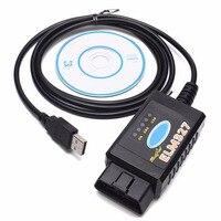 Elm327 usb ftdi/pic18f25k80 chip leitor de código para ford hs can/ms pode alternar carro veículo obdii ferramenta diagnóstico interface|Localizadores de disjuntor|   -