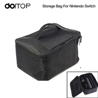 DOITOP Protective Pouch Bag For Nintend Switch Bag Carrying Case For Switch Console Storage Pack Carrying