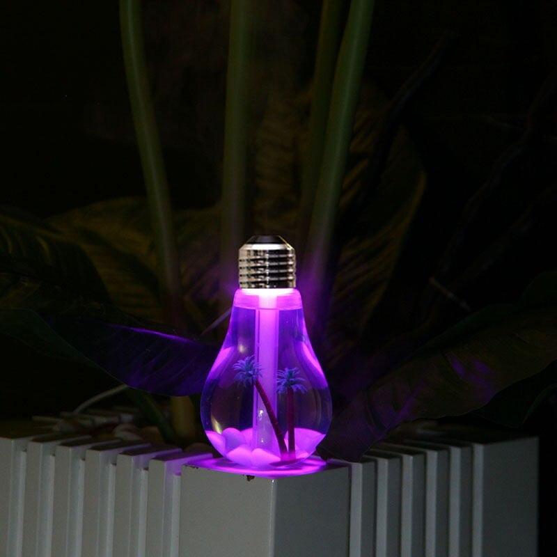 Luzes da Noite 100% novo usb ultrasonic umidificador Fonte de Luz : Lâmpadas Led